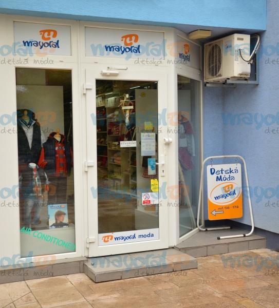 Mayoral - detská móda - kamenný obchod