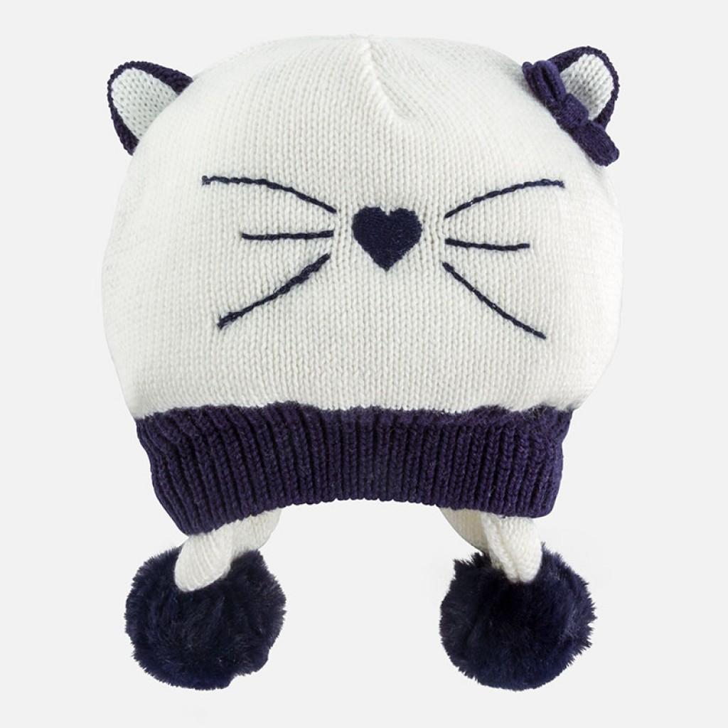 66451fc55 MAYORAL detská móda | Detské oblečenie - Dievčenská pletená čiapka ...