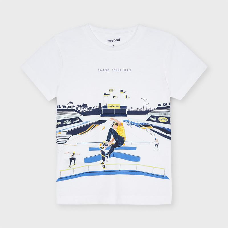Chlapčenské tričko s krátkym rukávom - ECOFRIENDS