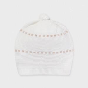 Pletená čiapka - Newborn - 9371-62