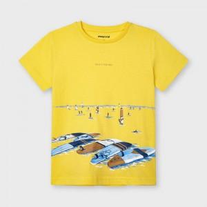 Chlapčenské tričko s krátkym rukávom - ECOFRIENDS - Surf - 3034-76