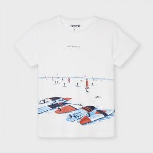 Chlapčenské tričko s krátkym rukávom - ECOFRIENDS - Surf - 3034-77