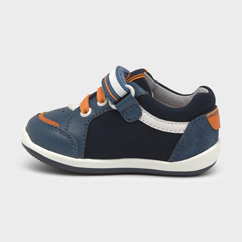 Chlapčenská vychádzková obuv - Multicolour first steps