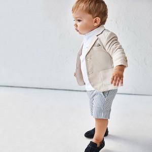 Chlapčenské nohavice krátke - MYRL - Elegant - 1239-20
