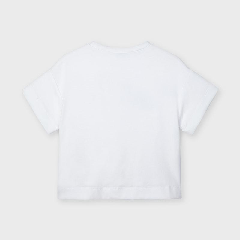 Dievčenské tričko s krátkym rukávom - MYRL - Blue