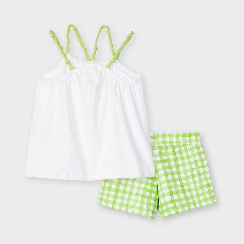 Dievčenské tričko + krátke nohavice - 2set - ECOFRIENDS shorts set