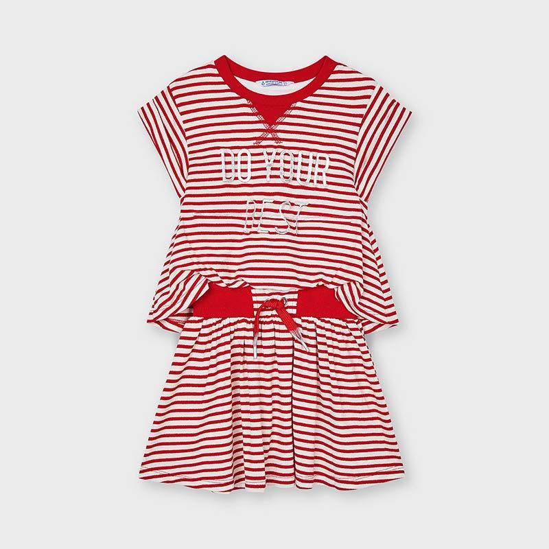 Dievčenské šaty - MYRL - Striped dress