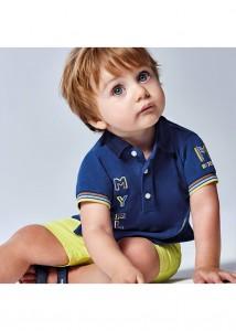 Chlapčenská polokošeľa s krátkym rukávom - MYRL - 1109-16