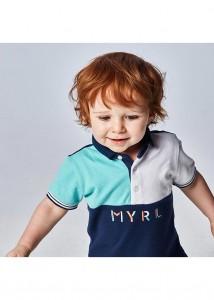 Chlapčenská polokošeľa s krátkym rukávom - MYRL - 1110-20