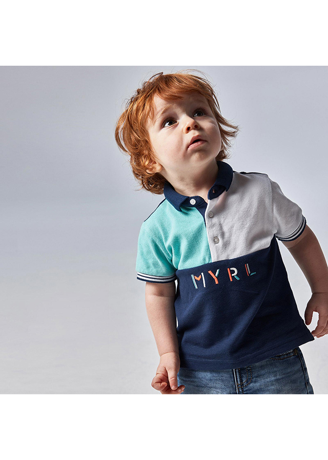 Chlapčenská polokošeľa s krátkym rukávom - MYRL
