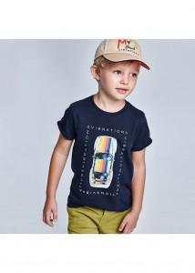 Chlapčenské tričko s krátkym rukávom - ECOFRIENDS - 3039-37