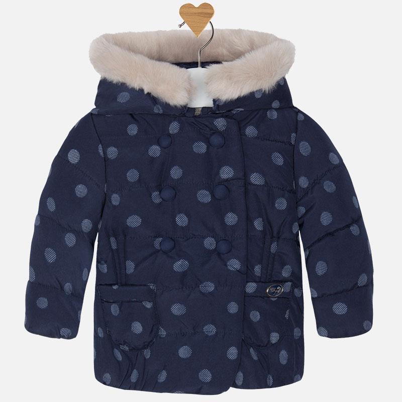 Dievčenský kabát zimný - NEWBORN